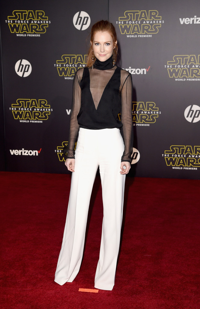 Darby Stanchfield  Best Dressed at the Star Wars