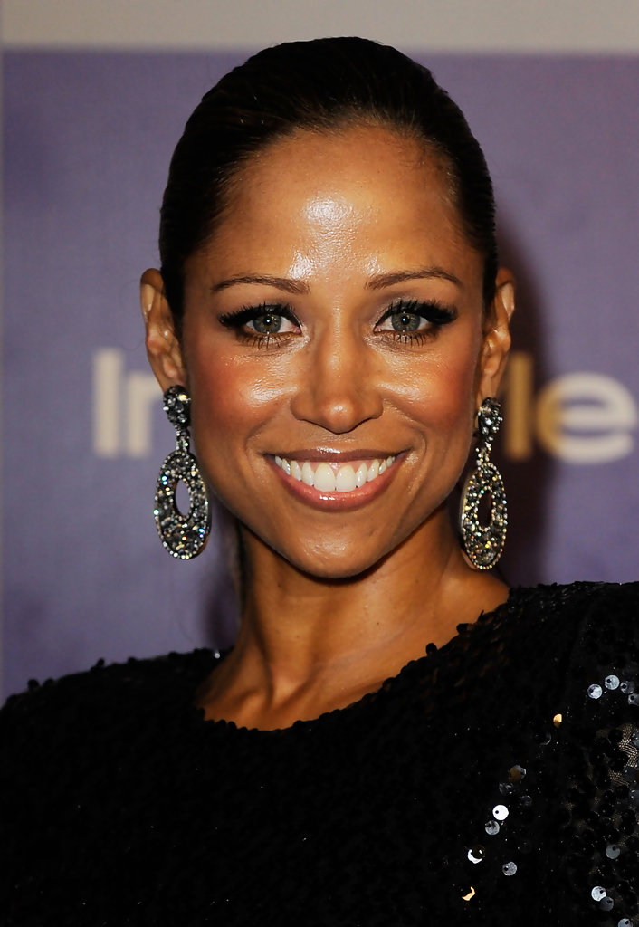 Stacey Dash Dangling Diamond Earrings  Stacey Dash Looks