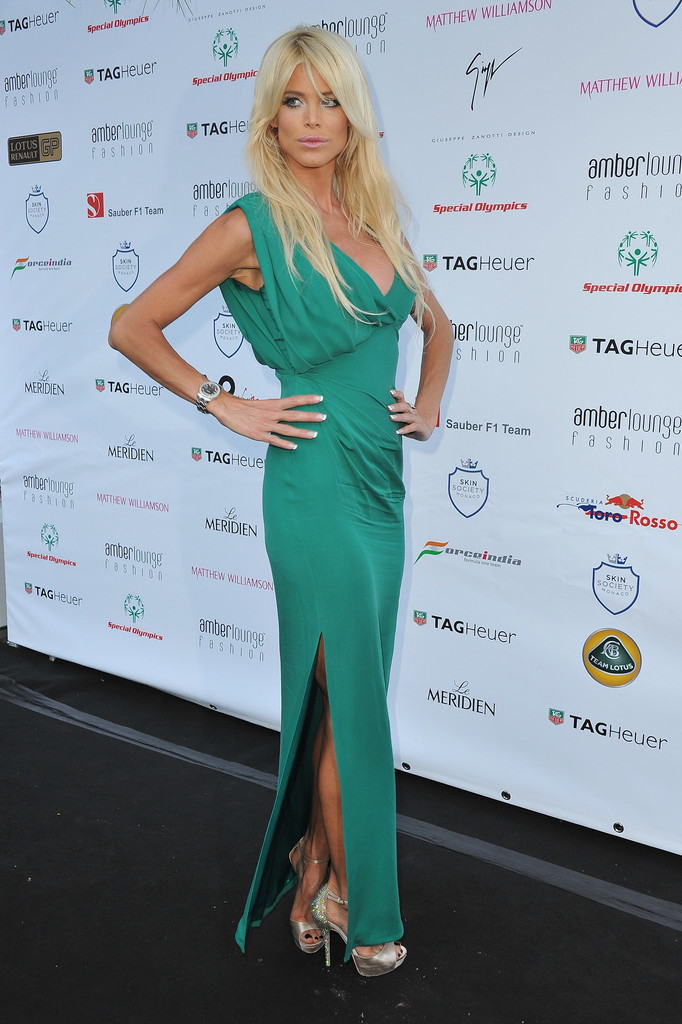 Victoria Silvstedt Evening Dress  Victoria Silvstedt