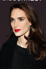 winona ryder layered cut - long