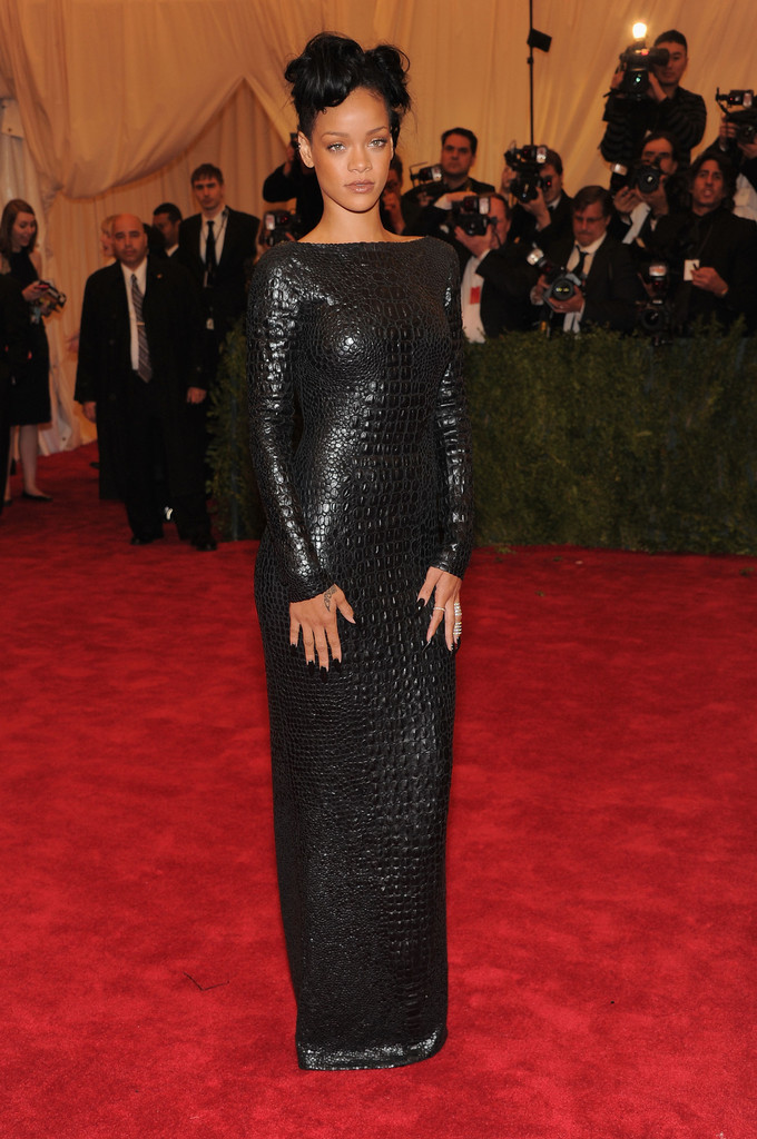 Rihanna in Tom Ford  Best and Worst Dressed at the 2012 Costume Institute Gala  StyleBistro
