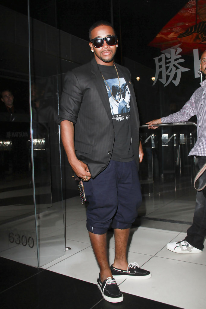 Omarion Boat Shoes  Omarion Looks  StyleBistro