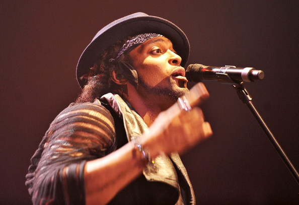 Neo soul singer D'Angelo performs live at the O2 Academy, Brixton.