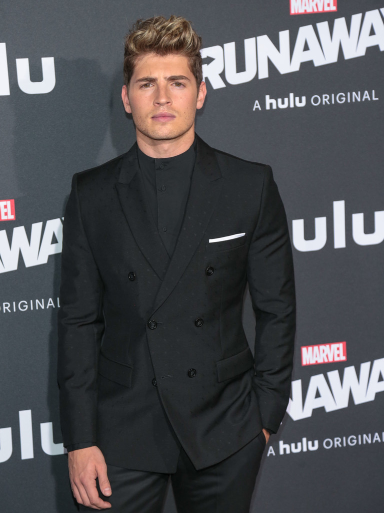 Gregg Sulkin Photos Photos  Premiere of Hulus Marvels