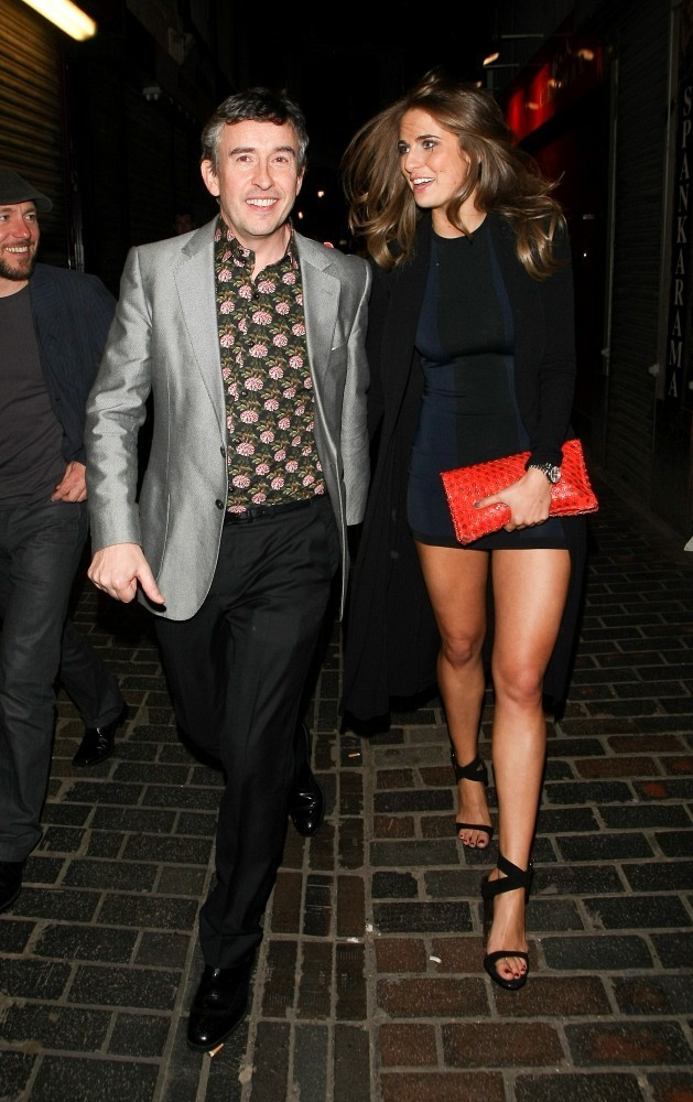 Steve Coogan and Elle Basey Out Late in London  Zimbio