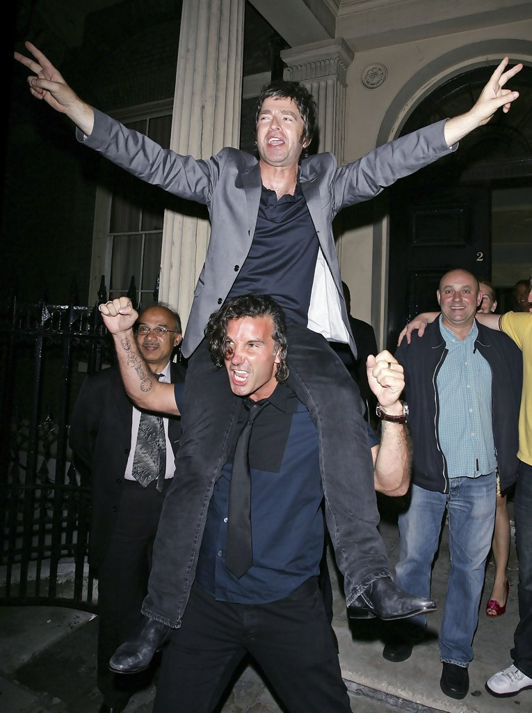 Noel Gallagher Photos Photos  U2 parties at Home House