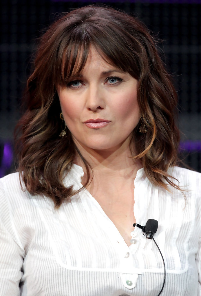 Lucy Lawless Photos Photos  2011 Winter TCA Tour  Day 3