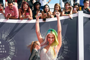 Recording artist Kesha attends the 2014 MTV Video Music Awards at The Forum on August 24, 2014 in Inglewood, California.