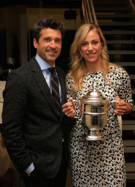 with Patrick Dempsey