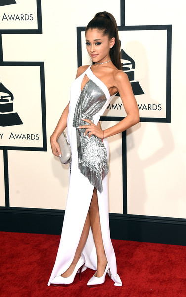 Singer Ariana Grande attends The 57th Annual GRAMMY Awards at the STAPLES Center on February 8, 2015 in Los Angeles, California.