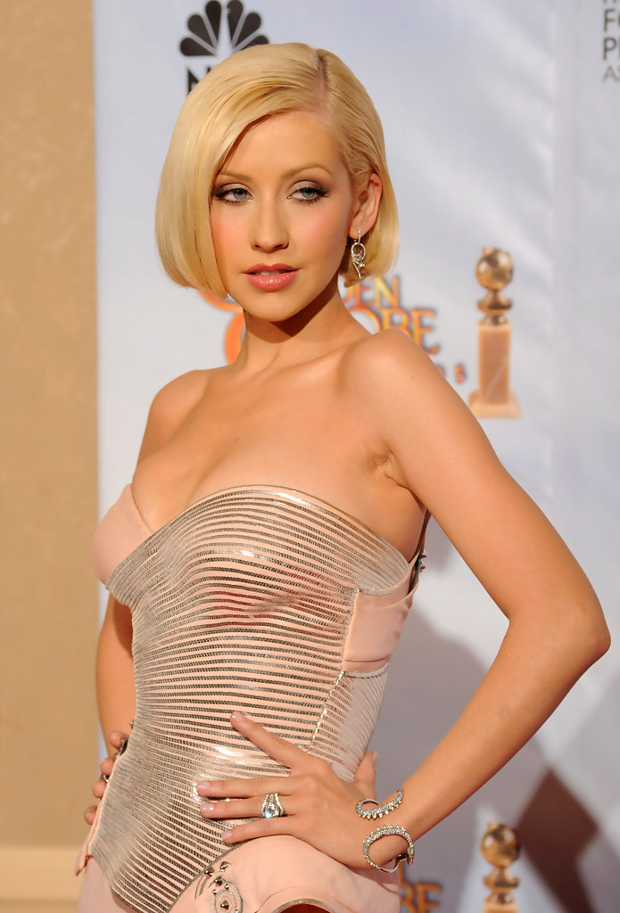 Christina Aguilera Photos Photos 67th Annual Golden