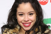 "Actress Cierra Ramirez attends ABC's ""25 Days Of Christmas"" Celebration at Cucina at Rockerfellar Center on December 7, 2014 in New York City."