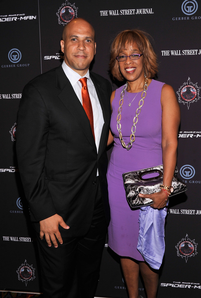 Gayle King and Cory Booker Photos Photos  The Amazing