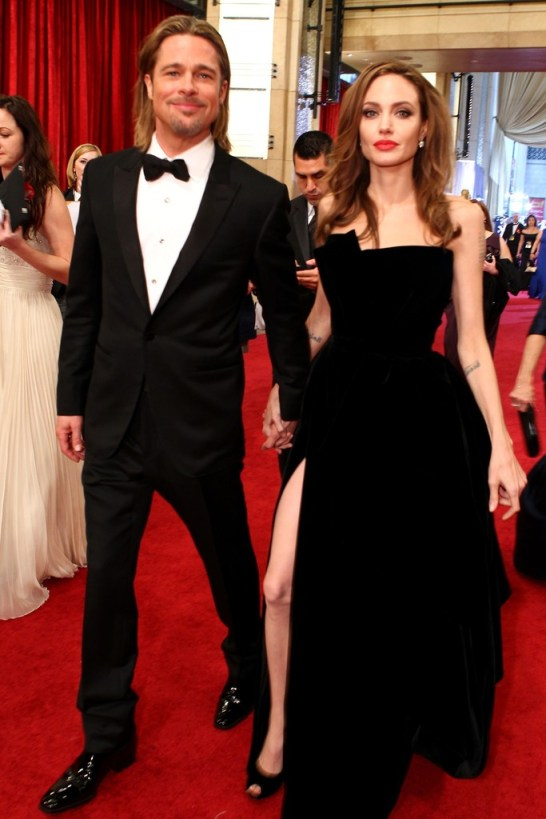 brangelina leg dress split