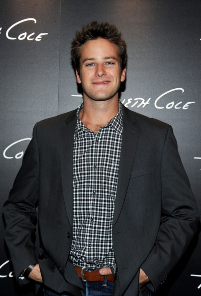 Armie Hammer Actor Armie Hammer attends the Grand Opening of Kenneth Cole Boutique at Santa Monica Place on November 10, 2010 in Santa Monica, California.