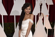 Actress Zendaya attends the 87th Annual Academy Awards at Hollywood & Highland Center on February 22, 2015 in Hollywood, California.