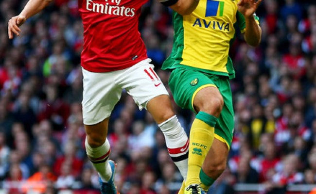 Russell Martin In Arsenal V Norwich City Premier League