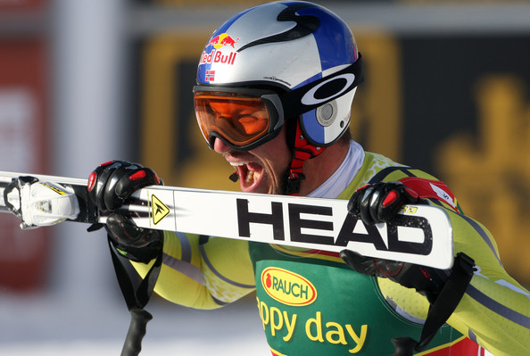 Aksel Lund Svindal victorios in super-G-ul din Lake Louise (Getty Images)
