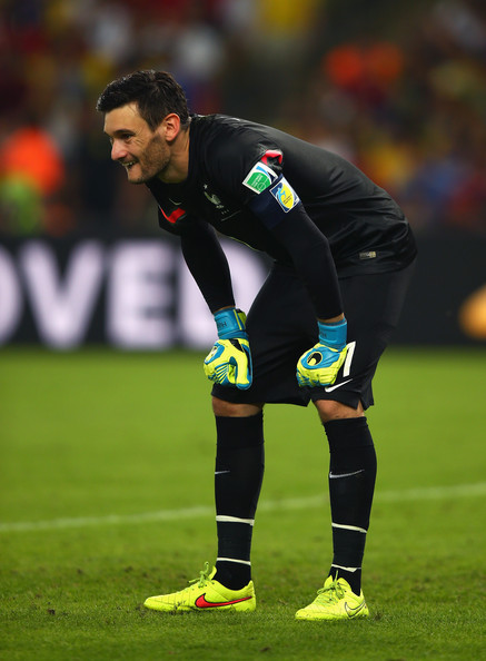 Hugo Lloris of France looks on during the 2014 FIFA World Cup Brazil Group E match between Ecuador and France at Maracana on June 25, 2014 in Rio de Janeiro, Brazil.