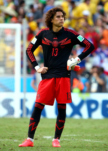 Guillermo Ochoa - Netherlands v Mexico: Round of 16 - 2014 FIFA World Cup Brazil