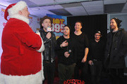 Ryan Tedder, Eddie Fisher, Zach Filkins,  Drew Brown and Brent Kutzle of OneRepublic attend HOT 99.5's Jingle Ball 2014, Presented by Mattress Warehouse at the Verizon Center on December 15, 2014 in Washington, D.C.