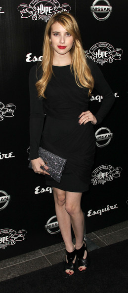 Actress Emma Roberts attends the House of Hype's 2011 MTV Video Music Awards After Party at the SLS Hotel on August 28, 2011 in Los Angeles, California.