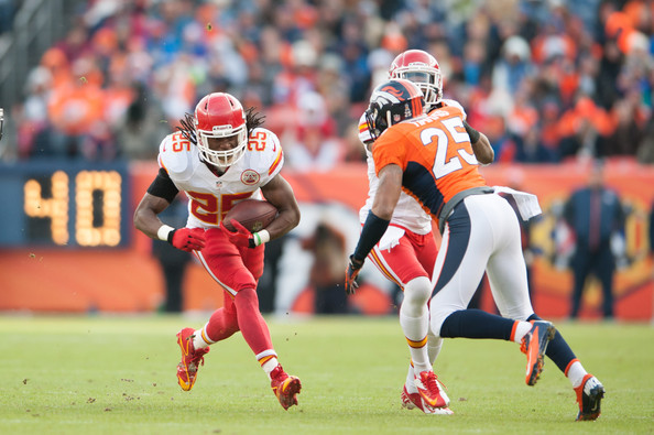 Image result for jamaal charles broncos