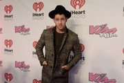 Nick Jonas attends KISS 108's Jingle Ball 2014, presented by Market Basket Supermarkets at TD Garden on December 14, 2014 in Boston, Massachusetts.