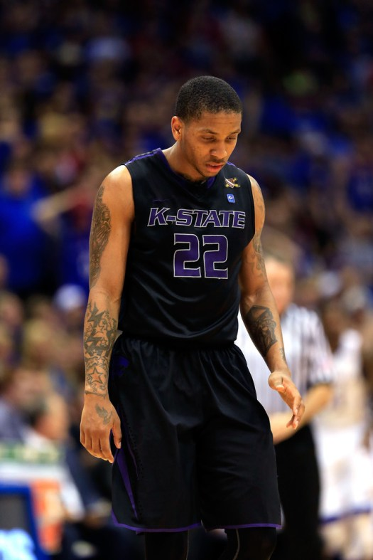 Rodney McGruder Photos - Kansas State v Kansas - 102 of ...