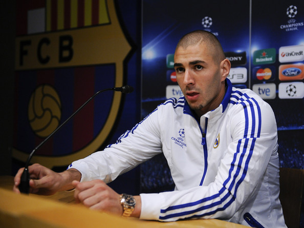 Image result for Benzema in press conference