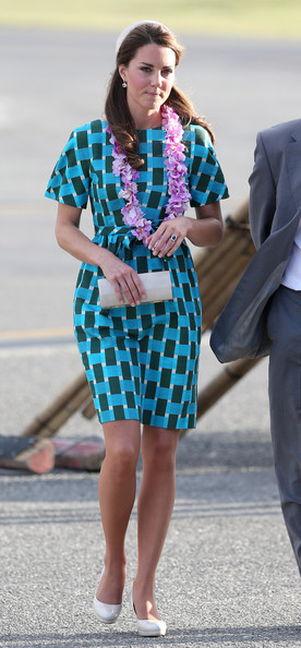 Kate Middleton - The Duke And Duchess Of Cambridge Diamond Jubilee Tour - Day 6