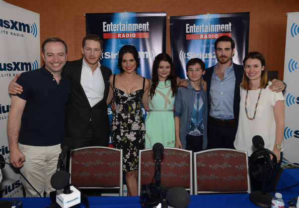 Lana Parrilla And Colin ODonoghue Photos SiriusXMs