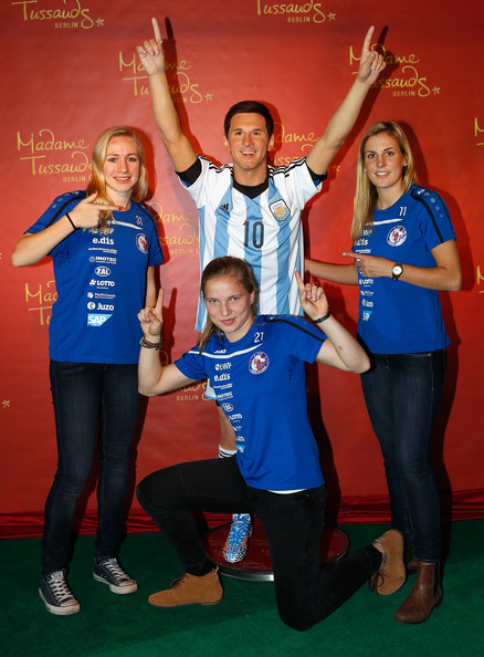 Lionel Messi - Lionel Messi Wax Figure Unveiled in Berlin