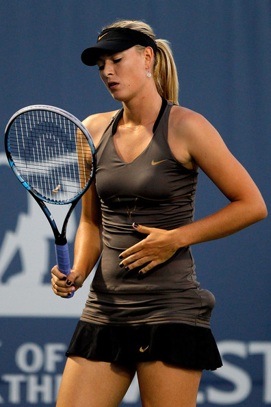 Maria Sharapova - Bank of the West Classic - Day 5