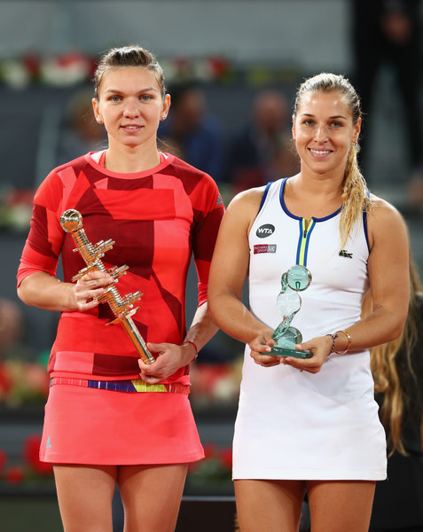 Madrid with Simona Halep