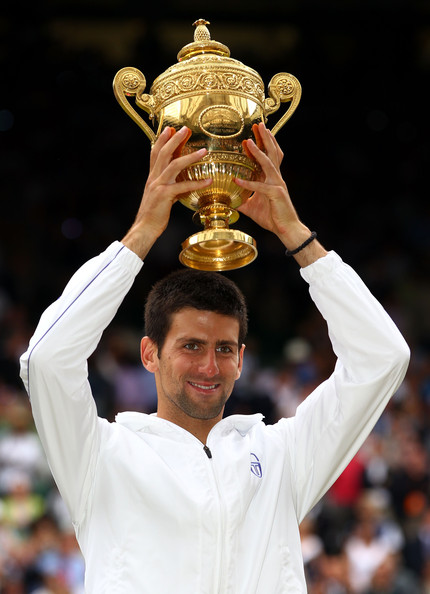 Novak Djokovic - The Championships - Wimbledon 2011: Day Thirteen