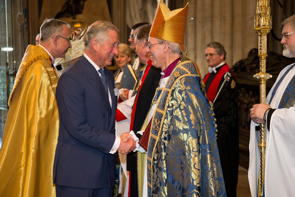 Image result for archbishop welby and prince charles