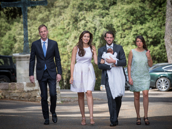 Prince Felix of Luxembourg and Princess Claire of