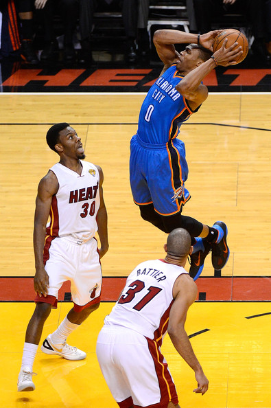 Russell Westbrook - 2012 NBA Finals - Game Three