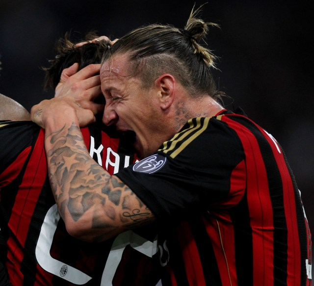 philippe mexes photos photos - ss lazio match against ac