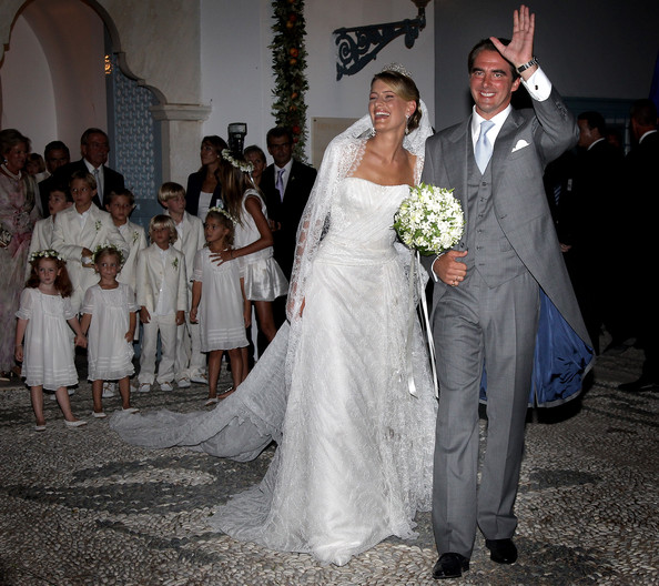 Tatiana Blatnik Prince Nikolaos of Greece and Princess Nikolaos of Greece and Denmark (Tatiana Blatnik) kiss after getting married at the Cathedral of Ayios Nikolaos (St. Nicholas) on August 25, 2010 in Spetses, Greece. Representatives from Europe?s royal families will join the many guests who have travelled to the island to attend the wedding of Prince Nikolaos of Greece, the second son of King Constantine of Greece and Queen Anne-Marie of Greece and Tatiana Blatnik an events planner for Diane Von Furstenburg in London.