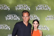 "Will Arnett and Megan Fox arrive at the Sydney Special Event Screening of ""Teenage Mutant Ninja Turtles"" at The Entertainment Quarter on September 7, 2014 in Sydney, Australia."