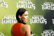 "Megan Fox arrives at the Sydney Special Event Screening of ""Teenage Mutant Ninja Turtles"" at The Entertainment Quarter on September 7, 2014 in Sydney, Australia."