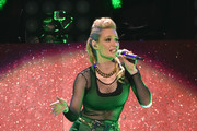 Iggy Azalea performs onstage during iHeartRadio Jingle Ball 2014, hosted by Z100 New York and presented by Goldfish Puffs at Madison Square Garden on December 12, 2014 in New York City.