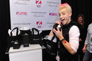 Frankie Grande attends the Z100's Artist Gift Lounge presented by Goldfish Puffs at Z100's Jingle Ball 2014 at Madison Square Garden on December 12, 2014 in New York City.
