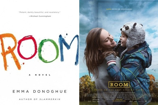 6 Room by Emma Donoghue  15 Book to Movie Adaptations