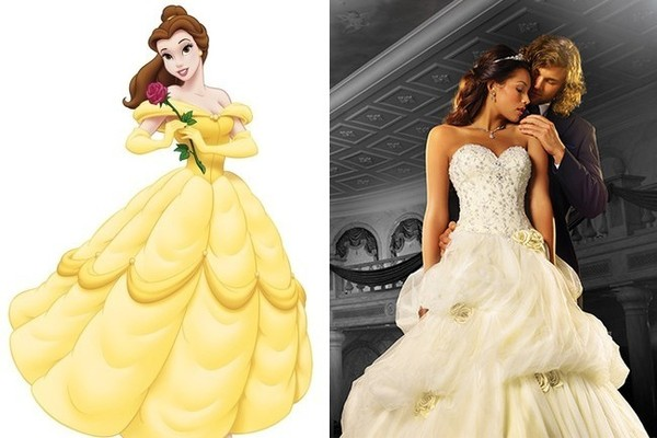 Wedding Dress Inspiration Fit For A Disney Princess