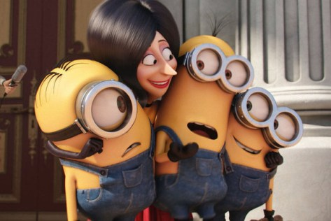 The Minions met Scarlet Overkill