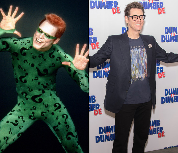 Image result for Jim Carrey then and now