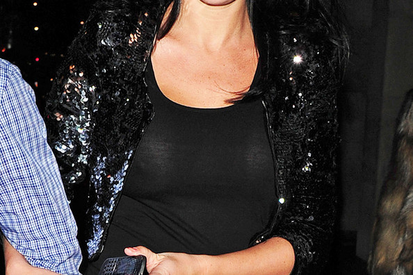 Jamie OHara Pictures Danielle Lloyd Dines Out In London